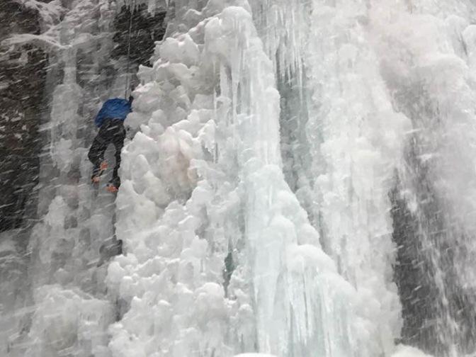 Ice Climbing School